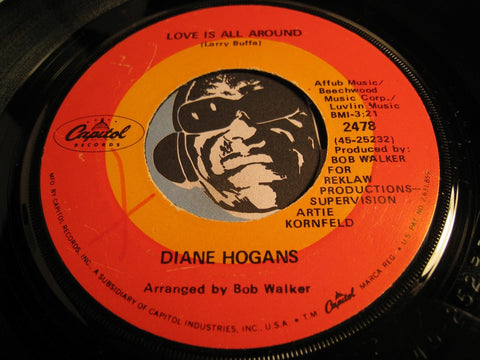 Diane Hogans - Love Is All Around b/w How Does It Feel - Capitol #2478 - Sweet Soul