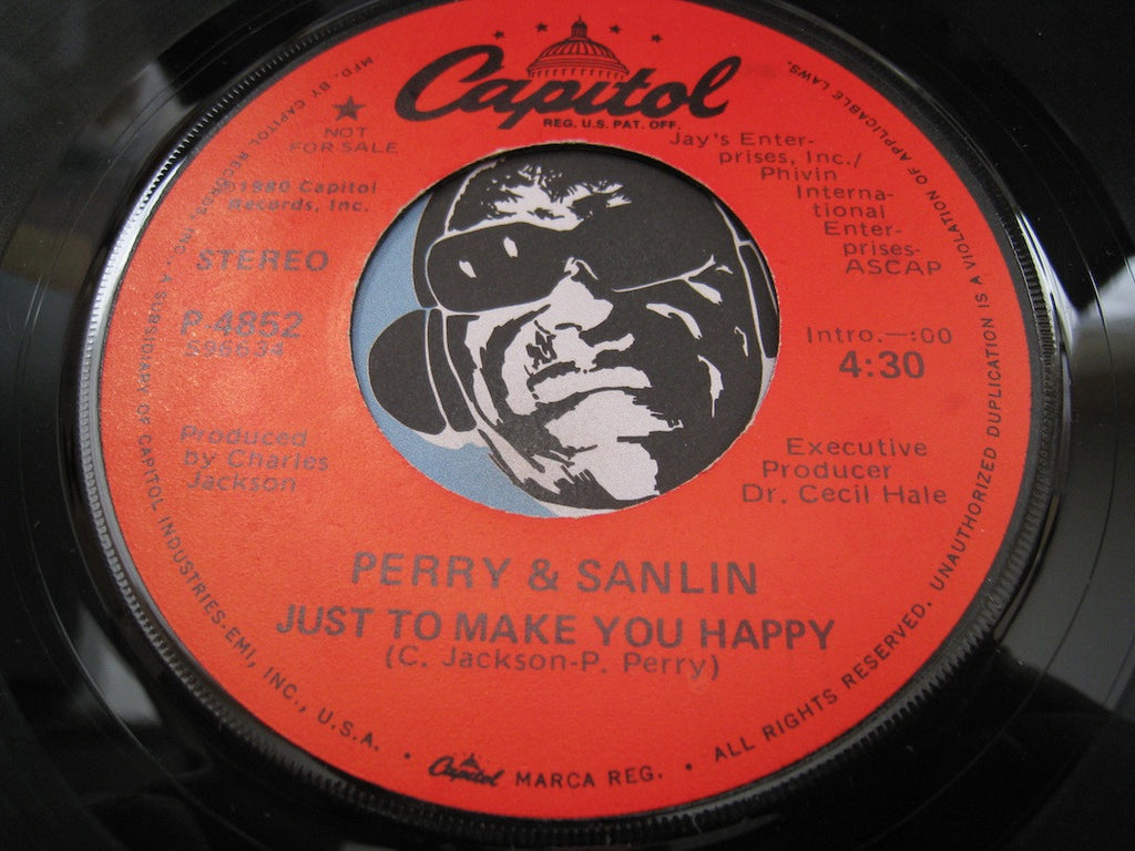 Perry & Sanlin - Just To Make You Happy b/w same - Capitol #4852 - Modern Soul