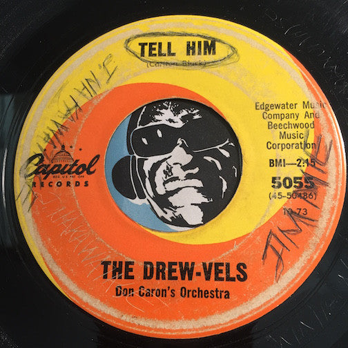Drew-Vels - Just Because b/w Tell Him - Capitol #5055 - Northern Soul