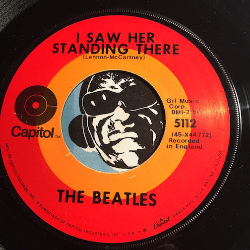 Beatles - I Want To Hold Your Hand b/w I Saw Her Standing There - Capitol #5112 - Rock n Roll