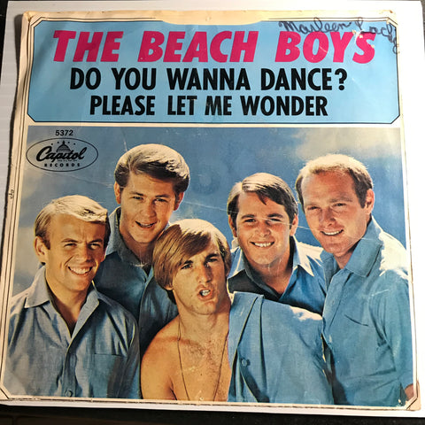 Beach Boys - Do You Wanna Dance b/w Please Let Me Wonder - Capitol #5372 - Surf - Rock n Roll