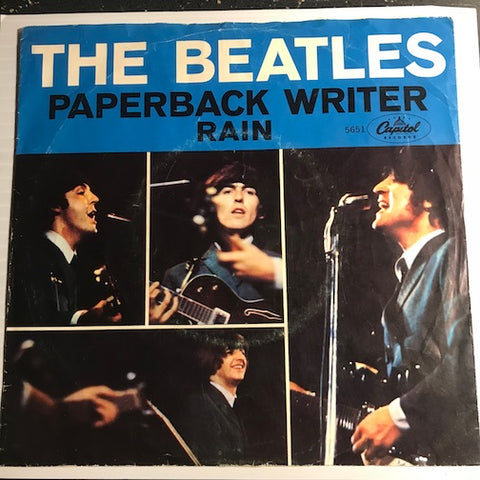 Beatles - Paperback Writer b/w Rain - Capitol #5651 - Rock n Roll