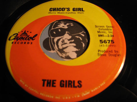 Girls - Chico's Girl b/w A Dumb Song - Capitol #5675 - Girl Group - Garage Rock - Popcorn Soul