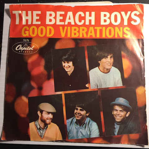 Beach Boys - Good Vibrations b/w Let's Go Away For Awhile - Capitol #5676 - Surf - Rock n Roll