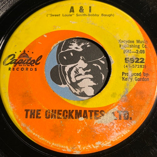 Checkmates Ltd - A&I b/w Walk In The Sunlight - Capitol #5922 - Northern Soul