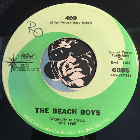 Beach Boys - 409 b/w Surfin Safari - Capitol Starline #6095 - Surf