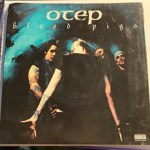 Otep - Blood Pigs b/w Battle Ready (DJ Higher Mix) - Capitol #7Pro 7087 6 16968 - 80's / 90's / 2000's