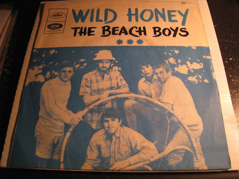 Beach Boys - Wild Honey b/w Wind Chimes - Capitol #2028 - Surf - Psych Rock