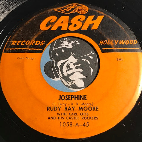 Rudy Ray Moore - Josephine b/w Hurts Me To My Heart - Cash #1058 - R&B Rocker - R&B