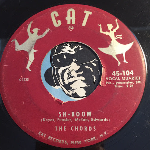 Wanted Records Chords Sh Boom Bw Little Maiden Cat 104 Doowop