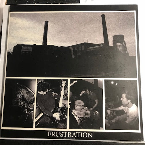 Frustration - EP - No Life To Live - Knowledge To Knowledge b/w Blackrock - Origin - No Love To Give - Champion Vinyl #0001 - Rock n Roll - Colored Vinyl