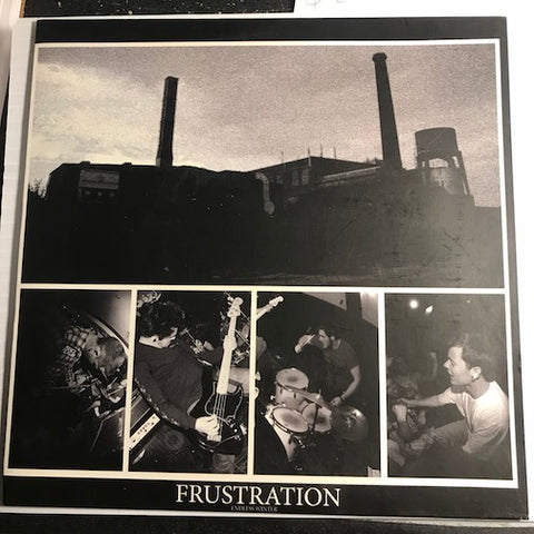 Frustration - EP - No Life To Live - Knowledge To Knowledge b/w Blackrock - Origin - No Love To Give - Champion Vinyl #0001 - Colored Vinyl - 80's / 90's / 2000's