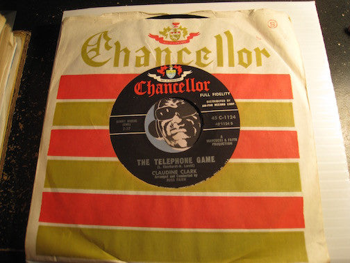 Claudine Clark - The Telephone Game b/w Walkin Through A Cemetery - Chancellor #1124 - Northern Soul