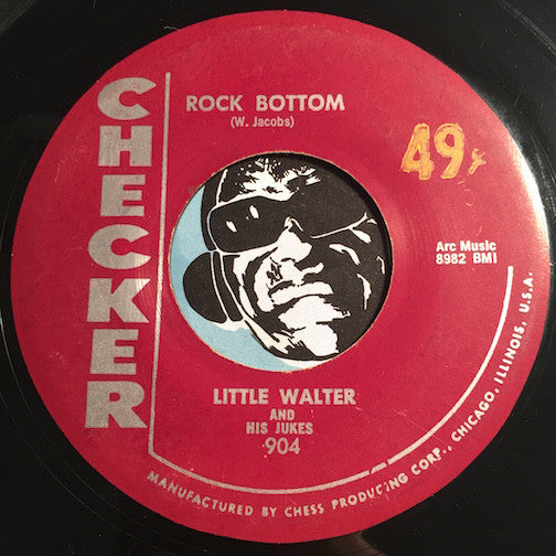 Little Walter and His Jukes - Key To The Highway b/w Rock Bottom - R&B Blues - R&B