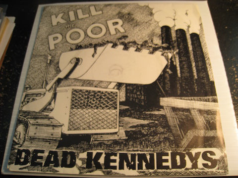 Dead Kennedys - Kill The Poor b/w In-Sight - Cherry #16 - Punk