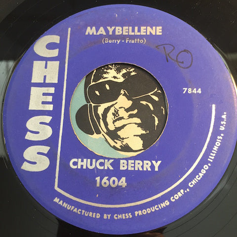 Chuck Berry - Maybellene b/w Wee Wee Hours - Chess #1604 - R&B Rocker - R&B