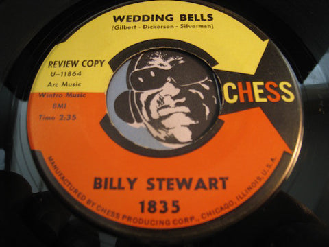 Billy Stewart - Wedding Bells b/w True Fine Lovin - Chess #1835 - Northern Soul - R&B Soul