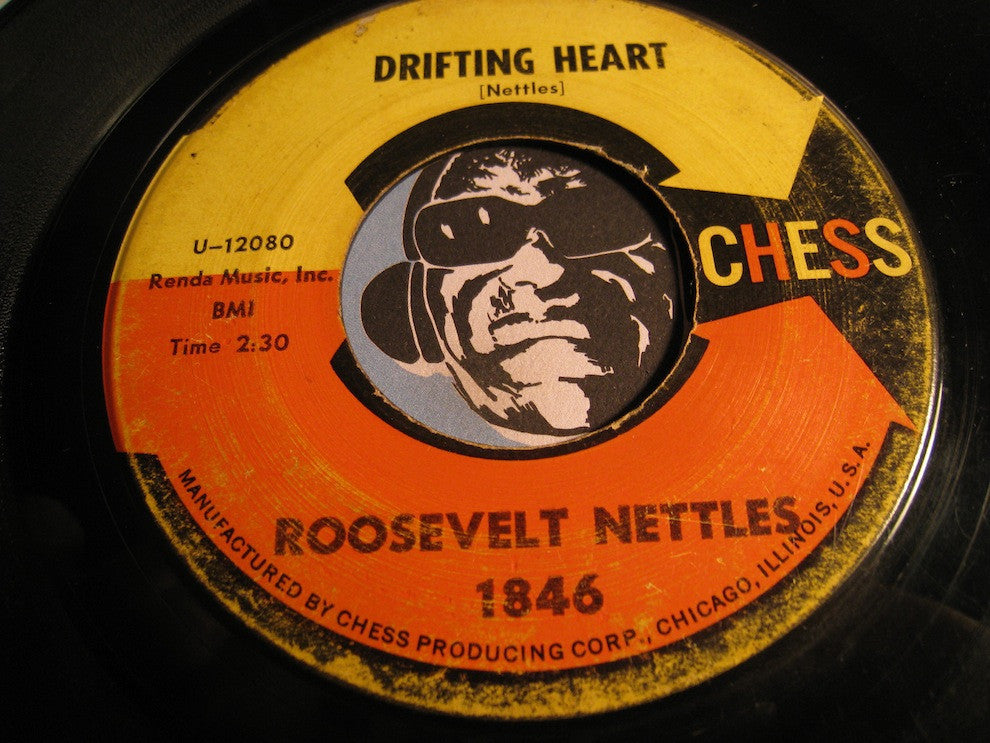 Roosevelt Nettles - Drifting Heart b/w Mathilda - Chess #1846 - R&B