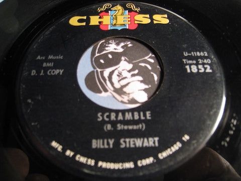Billy Stewart - Oh My What Can The Matter Be b/w Scramble - Chess #1852 - Northern Soul