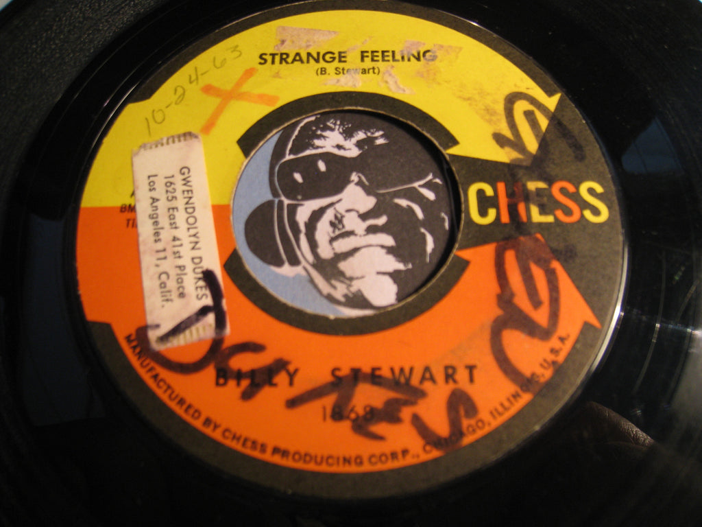 Billy Stewart - Strange Feeling b/w Sugar and Spice - Chess #1868 - Northern Soul
