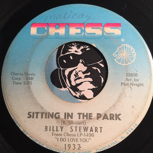 Billy Stewart - Sitting In The Park b/w Once Again - Chess #1932 - Northern Soul