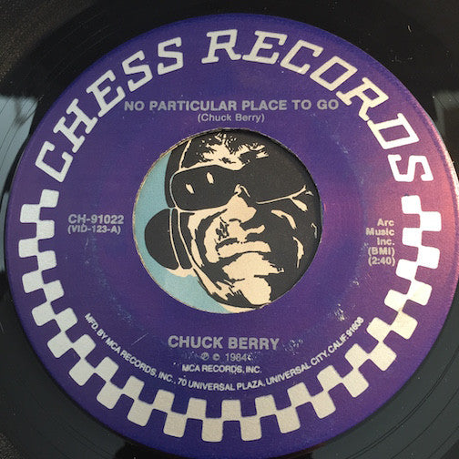 Chuck Berry - No Particular Place To Go b/w You Never Can Tell - Chess #91022 - R&B Rocker - R&B