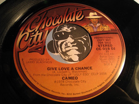 Cameo - Give Love A Chance b/w same - Chocolate City #018 - Modern Soul
