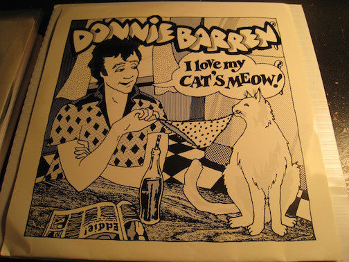 Donnie Barren - Cat's Meow b/w Cat's Meow - Falling In Love - City Lights #1869 - Rockabilly