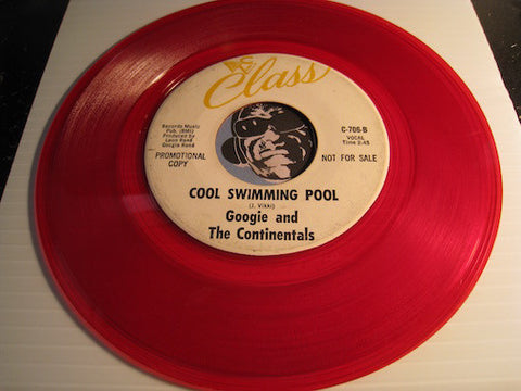 Googie & Continentals - Cool Swimming Pool b/w The Dropout - Class #706 - R&B Mod - R&B Soul - Doowop