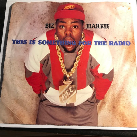 Biz Markie - This Is Something For The Radio b/w same - Cold Chillin #27784 - Rap