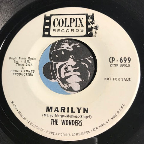 Wonders - Marilyn b/w Say There - Colpix #699 - Doowop