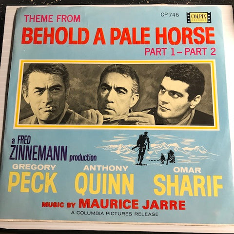 Maurice Jarre - Theme From Behold A Pale Horse pt.1 b/w pt.2 - Colpix #746 - Novelty