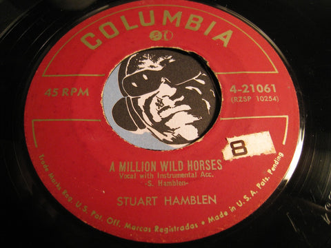 Stuart Hamblen - A Million Wild Horses b/w My Mary - Columbia #21061 - Country