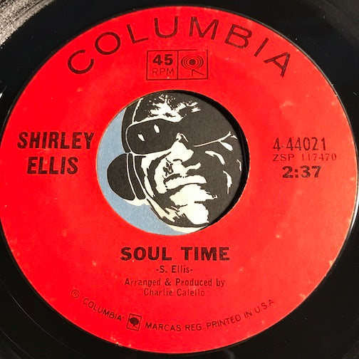 Shirley Ellis - Soul Time b/w Waitin - Columbia #44021 - Northern Soul