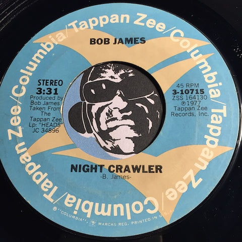 Bob James - Night Crawler b/w You Are So Beautiful - Columbia Tappan Zee #10715 - Jazz - Jazz Funk