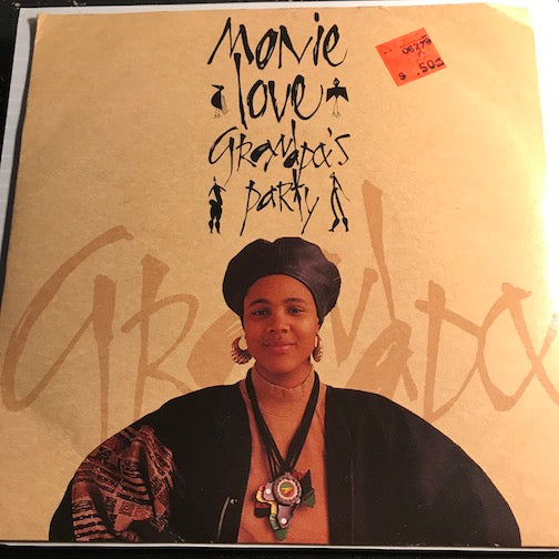 Monie Love - Grandpa's Party b/w I'll Drive You Crazy - Cooltempo #184 - Rap