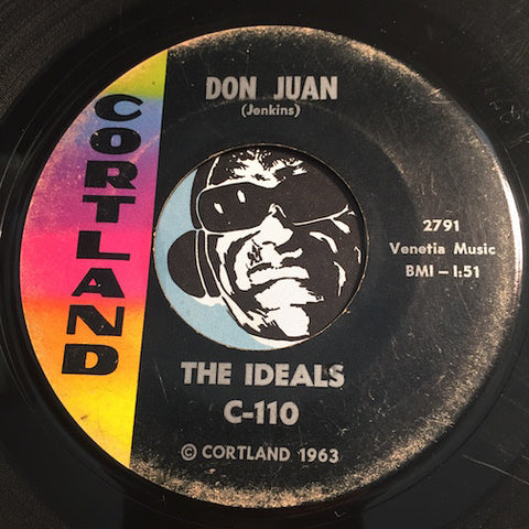Ideals - Don Juan b/w The Gorilla - Cortland #110 - Sweet Soul - R&B Soul