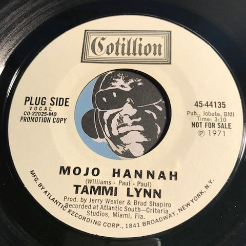 Tammi Lynn - Mojo Hannah b/w One Night Of Sin - Cotillion #44135 - Funk