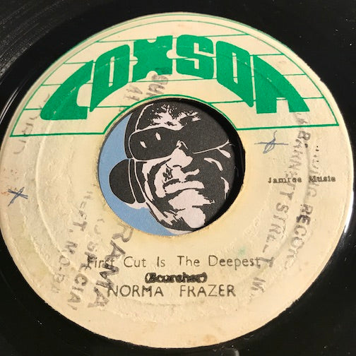 Norma Frazer - First Cut Is The Deepest b/w First Dub - Coxson no # - Reggae