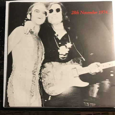 Elton John Band featuring John Lennon & Muscle Shoals Horns - I Saw Her Standing There b/w Whatever Gets You Through The Night - Lucy In The Sky With Diamonds - DJM #10965 - Rock n Roll
