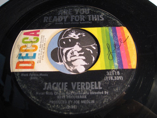 Jackie Verdell - Are You Ready For This b/w I'm Your Girl - Decca #32118 - Northern Soul