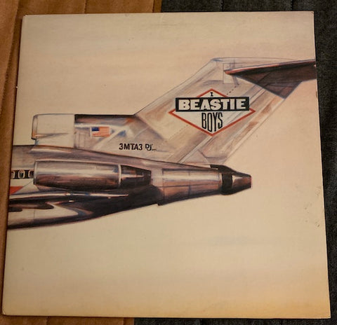 Beastie Boys - LP - Licensed To Ill -  Def Jam #40238 - Rap