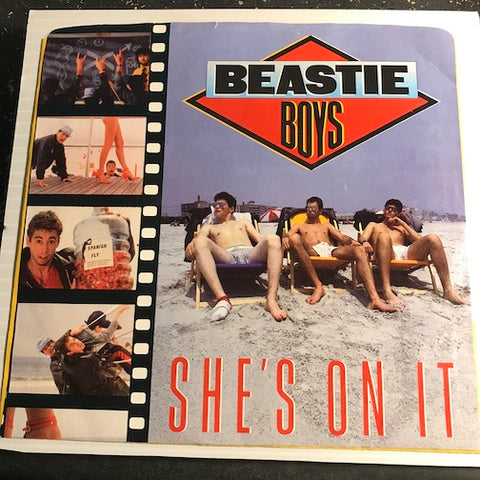 Beastie Boys - She's On It b/w Slow And Low - Def Jam #05683 - Rap