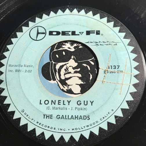 Gallahads - Lonely Guy b/w Jo Jo The Big Wheel - Delfi #4137 - Doowop