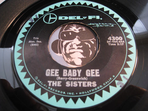 Sisters - Gee Baby Gee b/w All Grown Up - Delfi #4300 - R&B - Girl Group