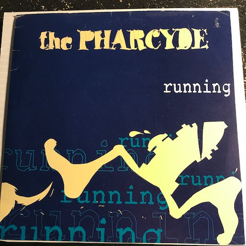 Pharcyde - Running b/w Emerald Butterfly - Delicious Vinyl #DV7-104 - Rap - Colored vinyl