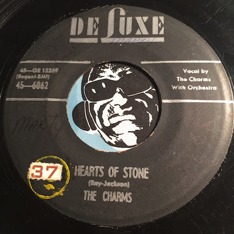 Charms - Hearts Of Stone b/w Who Knows - Deluxe #6082 - Doowop