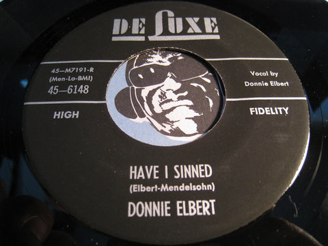 Donnie Elbert - Have I Sinned b/w Leona - Deluxe #6148 - Doowop