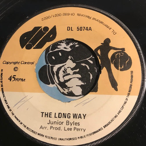 Junior Byles - The Long Way b/w All The Way - Dip #5074 - Reggae