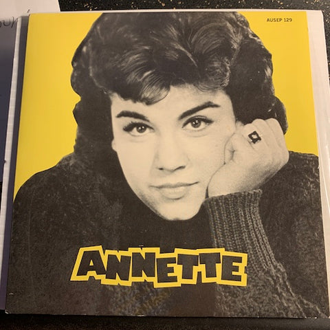 Annette - EP - Lonely Guitar - Train Of Love b/w Monkeys Uncle - Ma He's Making Eyes At Me - Disneyland #129 - Teen